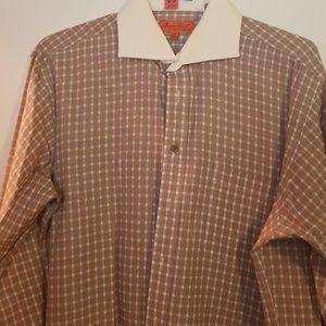Button down cufflink  shirt